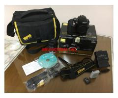 Nikon D3300 with Box + 18/55mm VR lens