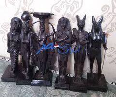 6 حتت فرعوني من الحجر 1200 جنيه