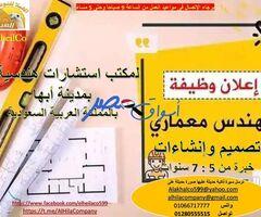 مهندس معمارى تصميم وإنشاءات