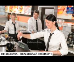 ملابس مطعم – يونيفورم مطاعم  01118689995