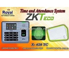 ماكينة الحضور والانصراف بالبصمة و الكارت للمنشأت الادارية X628 TC