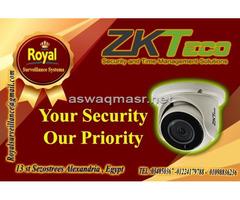 جديد كاميرات مراقبة داخلية  ماركة ZKTECO
